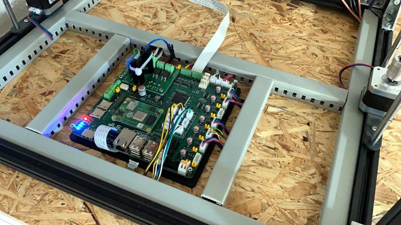 3D Printer Control Board Packs a Raspberry Pi Compute Module 4