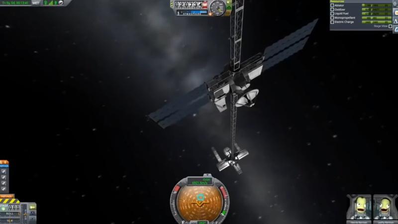 Kerbal Space Program Goes to the Movies in Stowaway