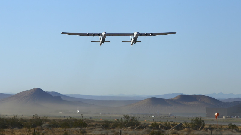 After Years of Uncertainty, Stratolaunch Flies Again