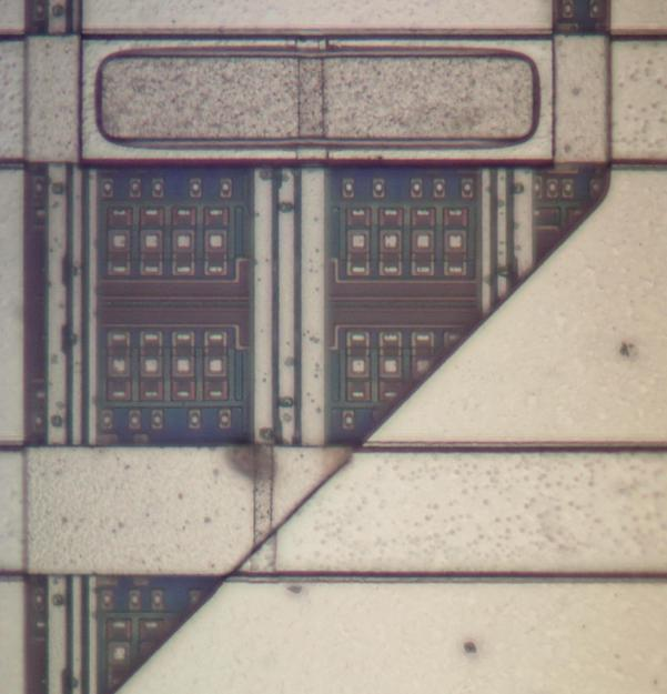 Logic Chip Teardown From Early 1990s IBM ES/9000 Mainframe