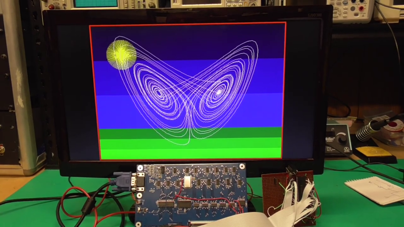 VGA Graphics Card in 74xx Logic