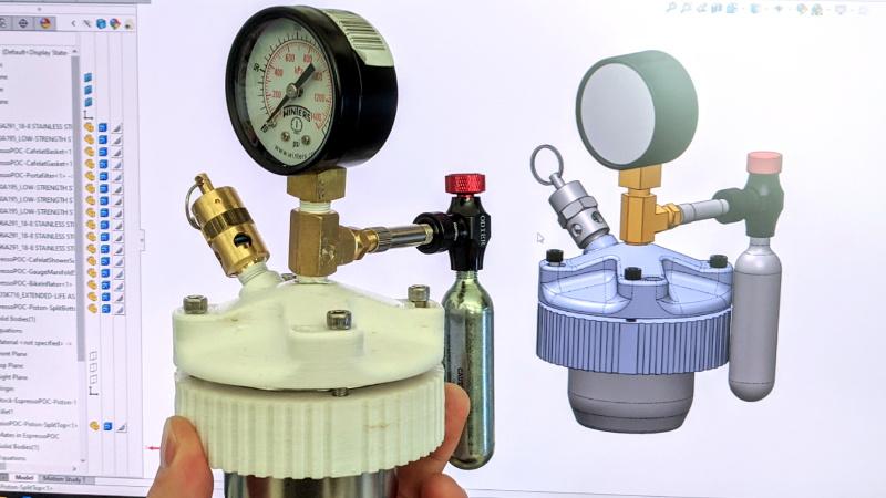 3D Printing Espresso Parts