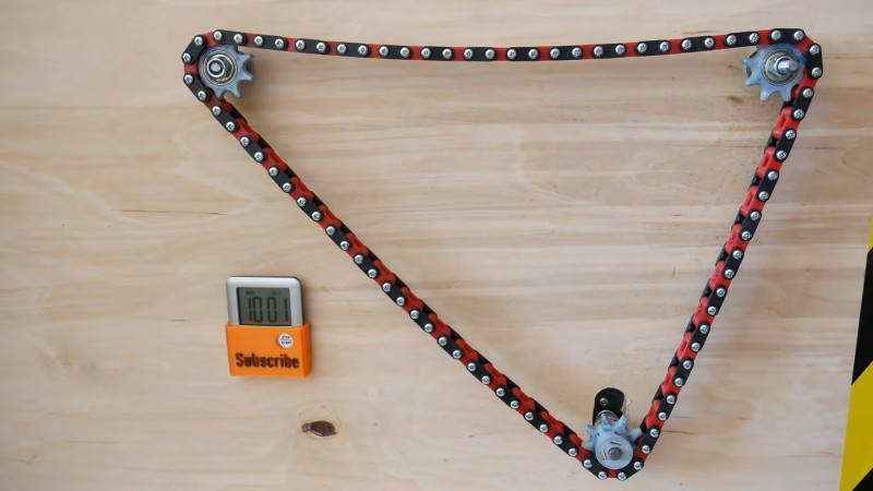 Putting 3D Printed Chain Through Its Paces