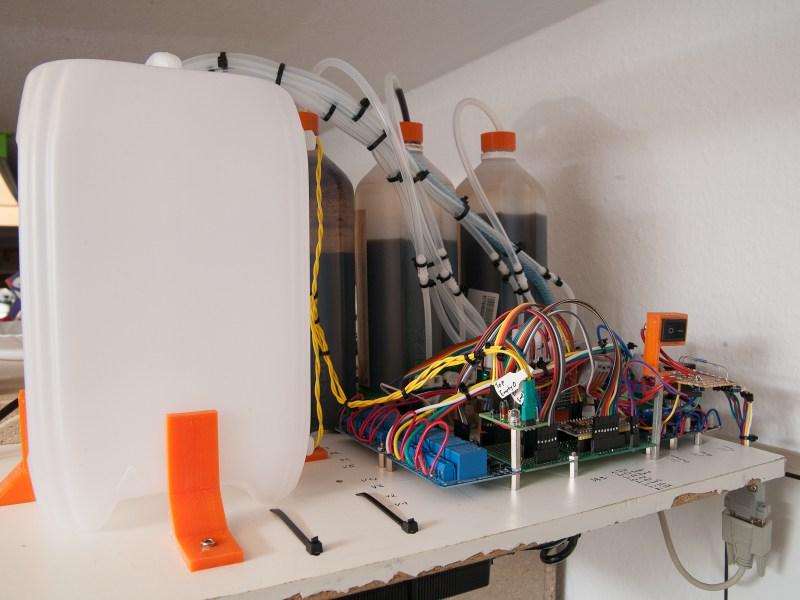 Automated Watering Machine Has What Plants Crave: Fertilizer