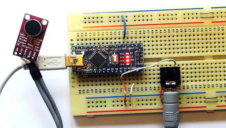 [Перевод] Распознавание речи при помощи Arduino Nano: пример простой системы