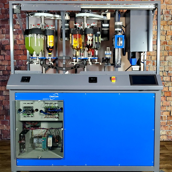 hackaday.com - Lewin Day - Robotic Bartender Built With Industrial-Grade Hardware