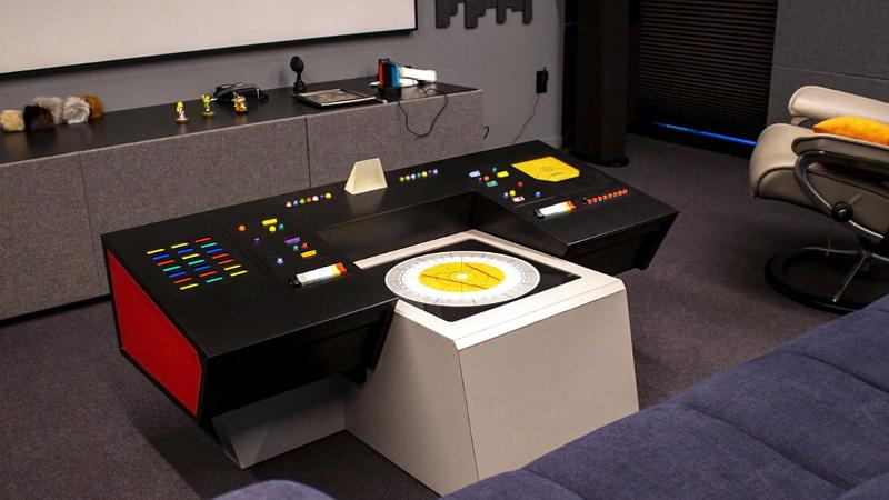 Enterprise Helm Commands the Entertainment Center