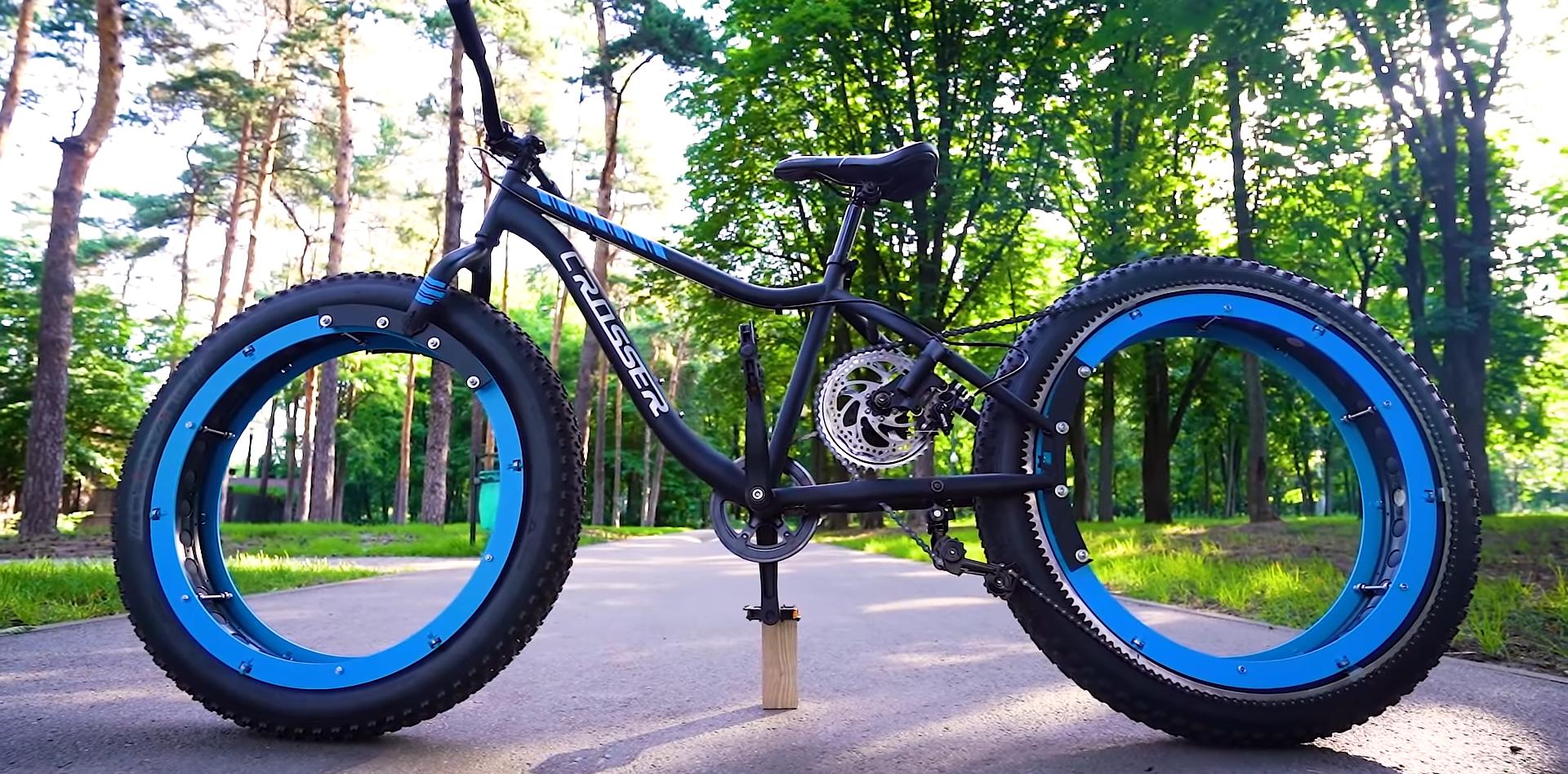 Fat Tire Bike Turned Hubless