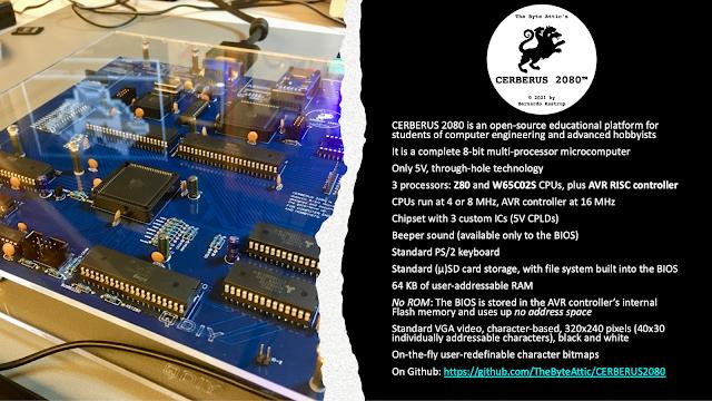 Cerberus 2080 — Three-Headed Retro Computing Project
