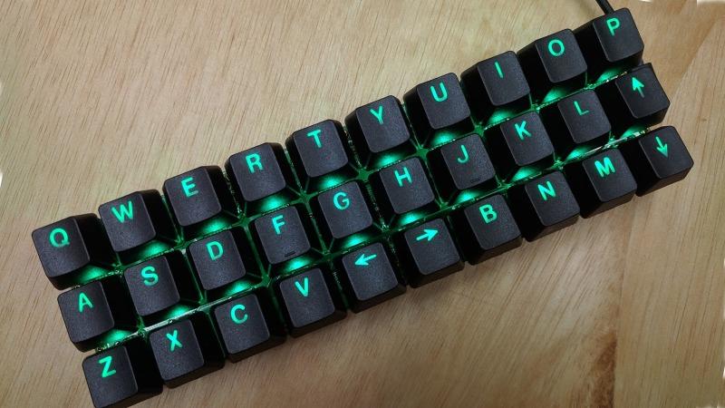 Tiny Mechanical Keyboard, Powered by Pi Pico