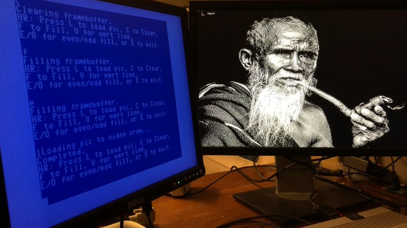 A Dual Monitor Setup for the C64, and Yes, It's VGA Compatible