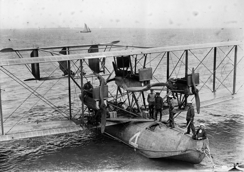 Who Flew Across the Atlantic First? The Airborne Boats of 1919