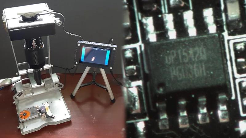 Old DSLR Lens Becomes Useful Soldering Magnifier