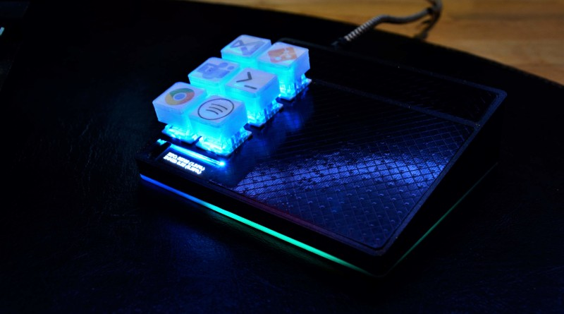Gesture-Detecting Macro Keyboard Knows What You Want