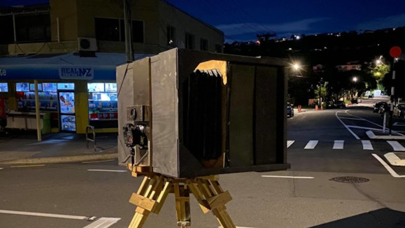 One Of The Largest Large Format Cameras You Will Ever Have Seen