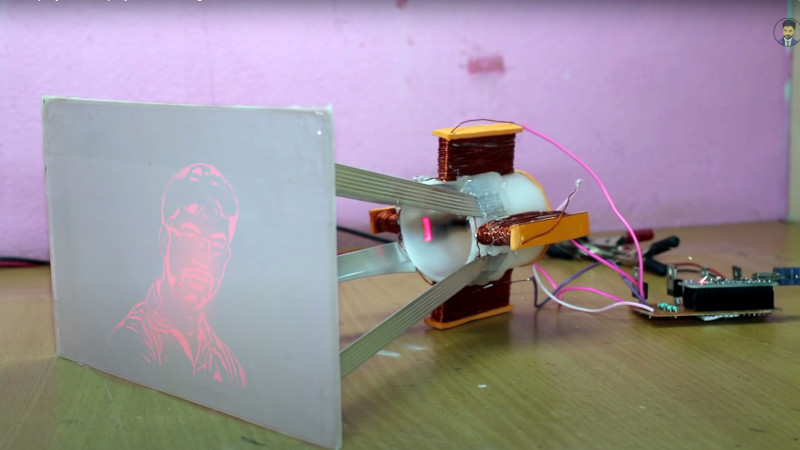 A Laser Display Board Of Your Very Own