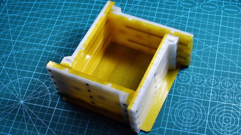 Modular Box Design Eases Silicone Mold-Making