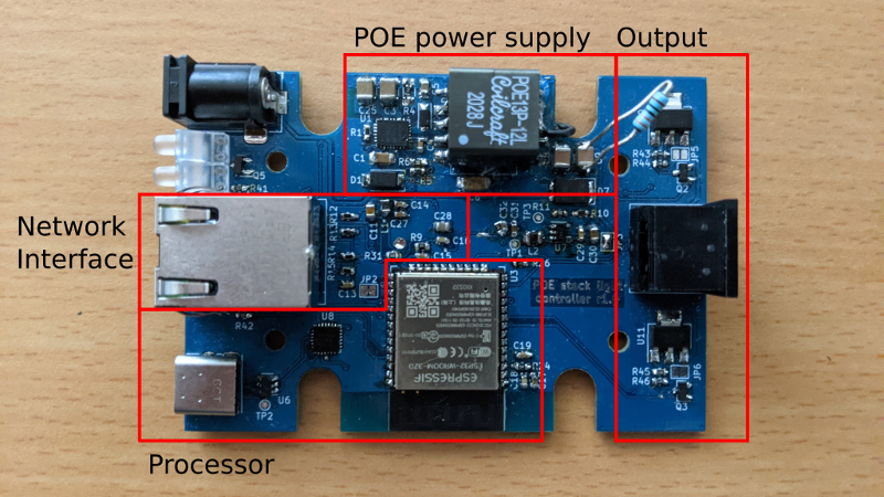 Developing a Power Over Ethernet Stack Light