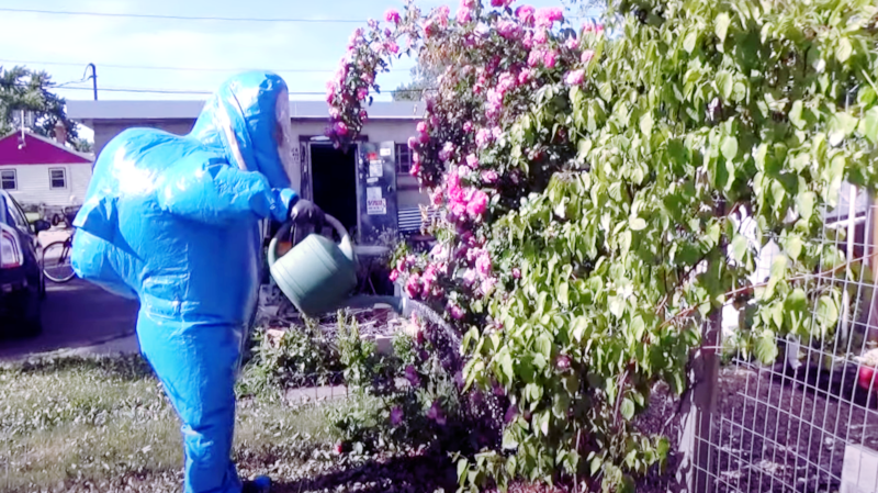 Even with AC, Hazmat Suit isn't Really Cool
