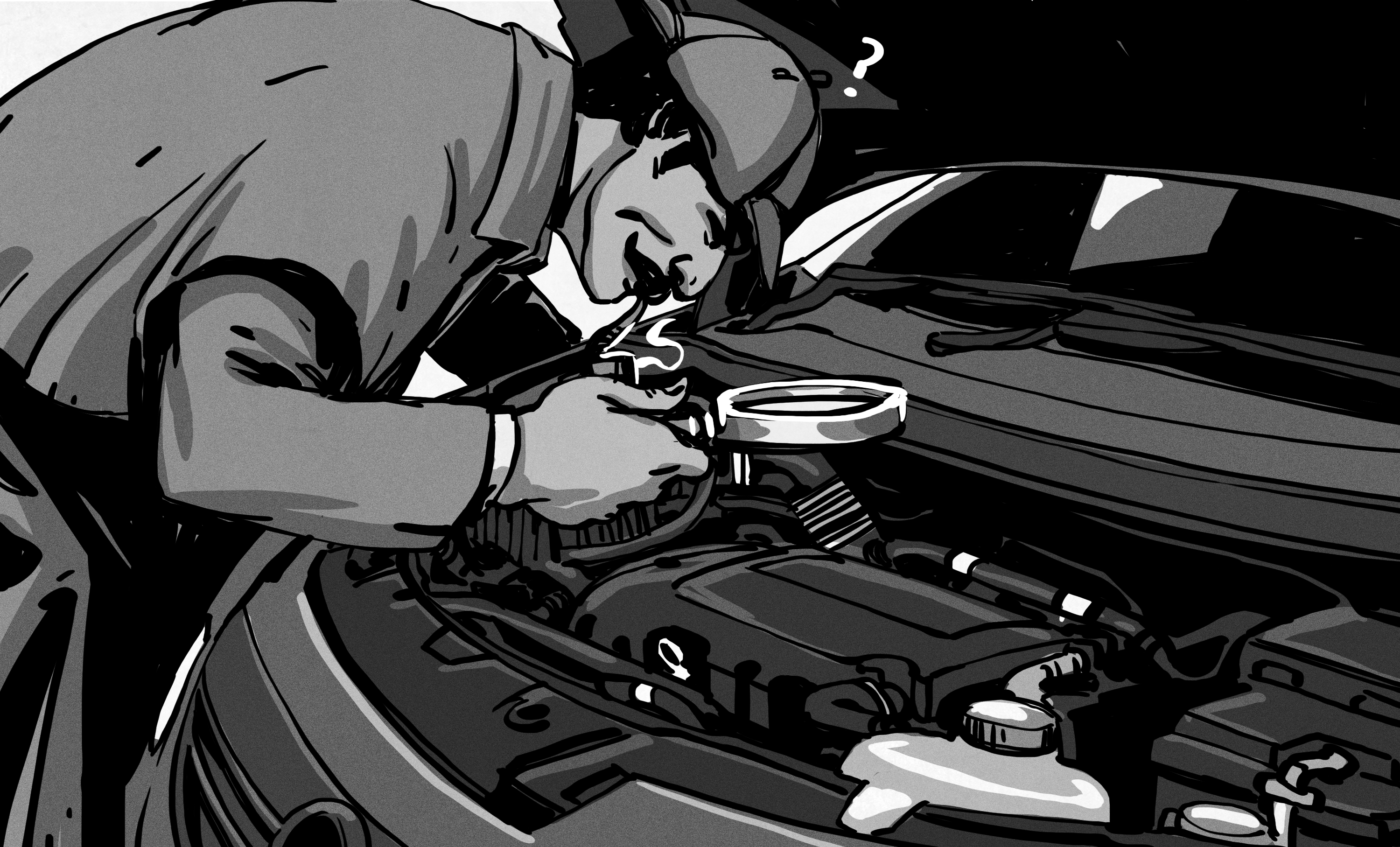 The Case of the Mysterious Driveline Noise