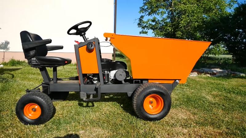 Building a Big Ol' Powerful Wheelbarrow