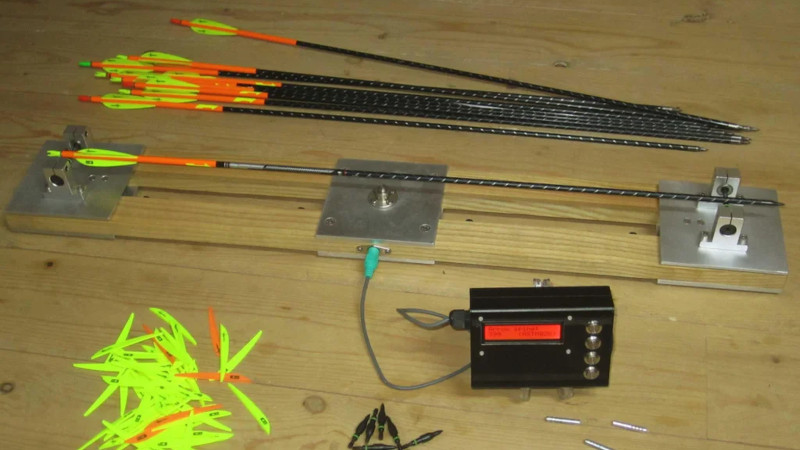 Building An Electronic Tester For Measuring Arrow Stiffness