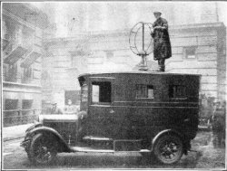 British radio direction finding truck from 1927; public domain