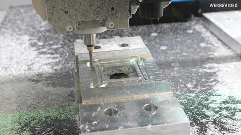 CNC Saves Water Cooling Setup