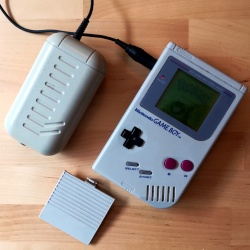 The Nintendo rechargable Game Boy pack.