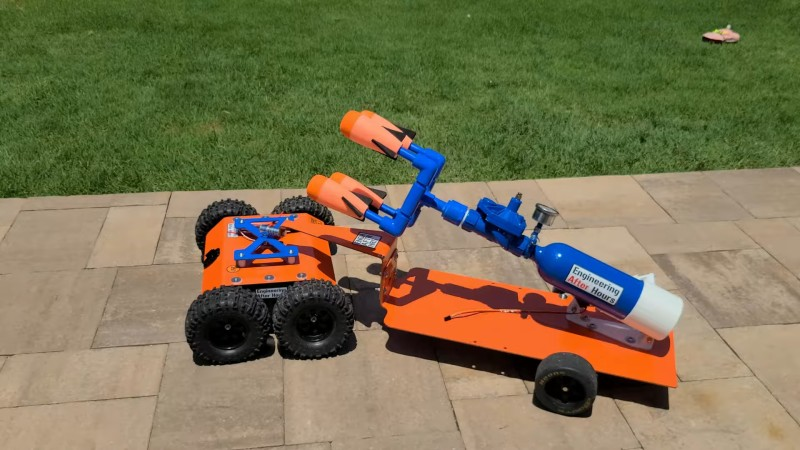 A Capable Nerf Launcher Robot