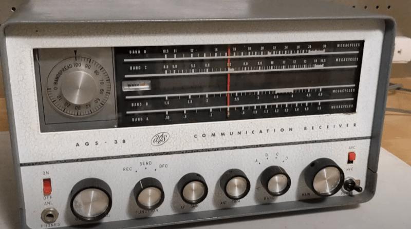 Rare Radio Receiver Teardown