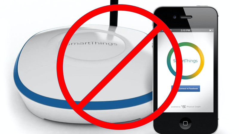 Samsung Shuttering Original SmartThings Hubs