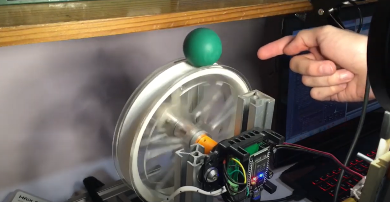 Ball Balancing Wheel Puts a Spin on Inverted Pendulums