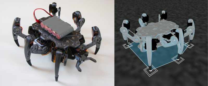 ZeroBug: From Simulation To Smooth Walking