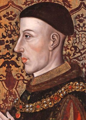 Portarit of King Henry V of England