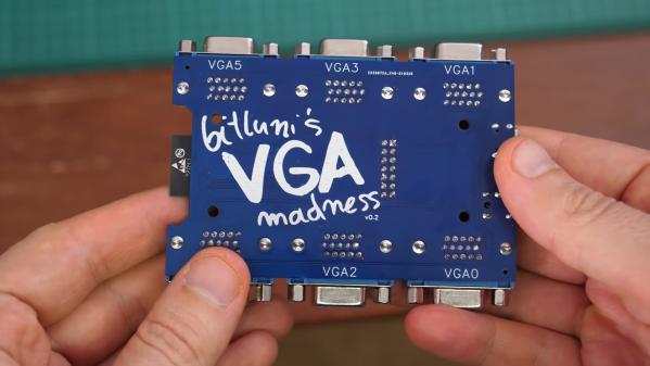 VGA PCB.