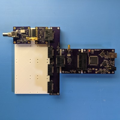 ThunderScope PCB assembly