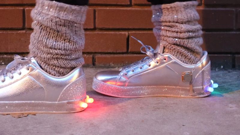 Interactive LED Shoes That Anyone Can Build!