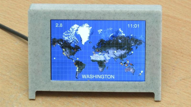An Earthquake Display To Keep You Abreast of Rumblings Worldwide