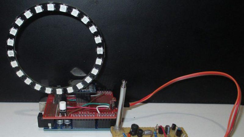 Lightning Detector Keeps a Tally