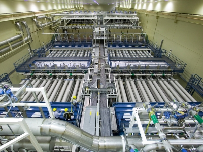 Laser Bay 2, one of NIF's two laser bays