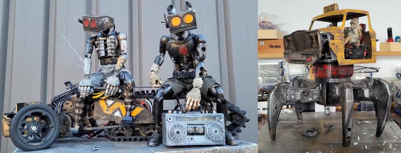 Small Scale Mad Max: Danny Huynh's Dystopian Animatronics