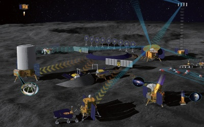 Rendering of the International Lunar Research Station