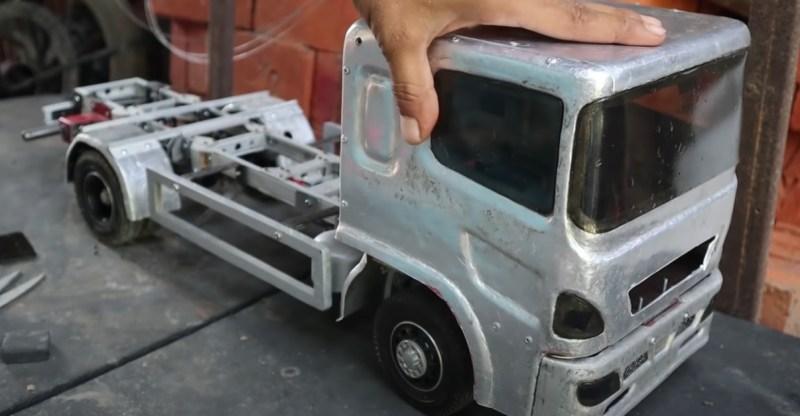 Building an Aluminum RC Truck from Scratch