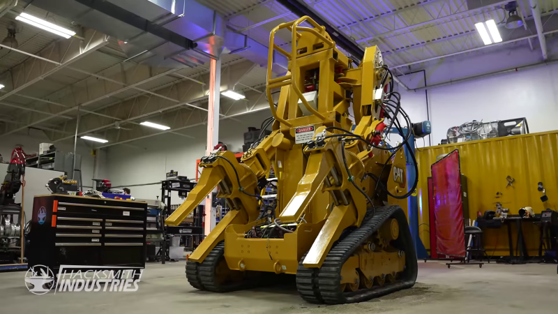 Building A Multi-Ton Power Loader For Fun