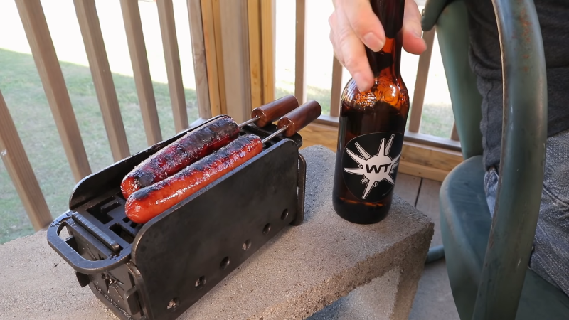 Furter Burner Cooks The Wieners Just So