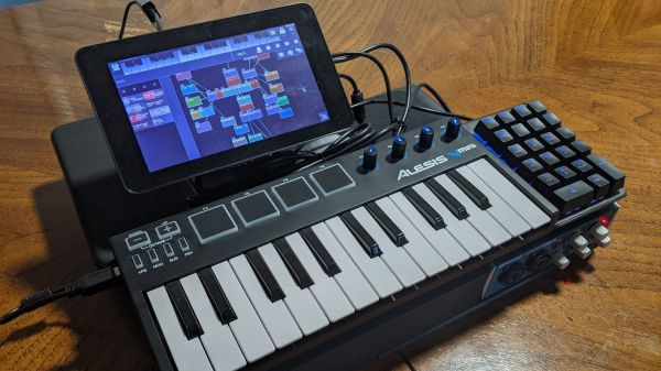 A musical cyberdeck