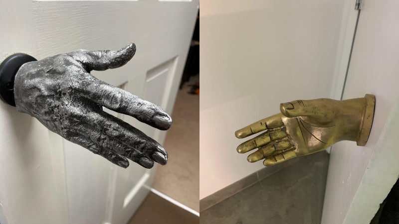 Making a Metal Hand Doorknob