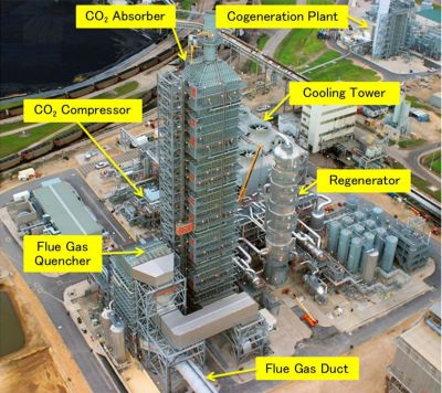 Mitsubishi Heavy Industries CO2 capture plant at the EOR project in Texas