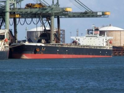 Container ship MV Suzaku